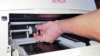 Швидкий спосіб заміни ролика подачі паперу  Fast way of replacement of a rock of supply of paper