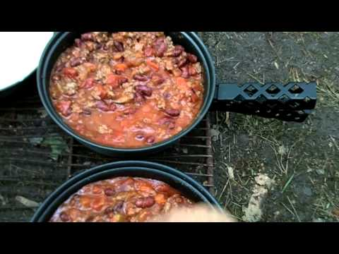 mess-kit-meals:-chili-and-cornbread-demo