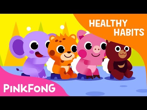 Bath Time Song| Scrub dub a dub | Healthy Habits | Pinkfong Songs for Children