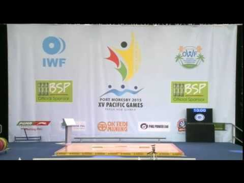 Pacific Games  2015 Weightlifting Female 75kg