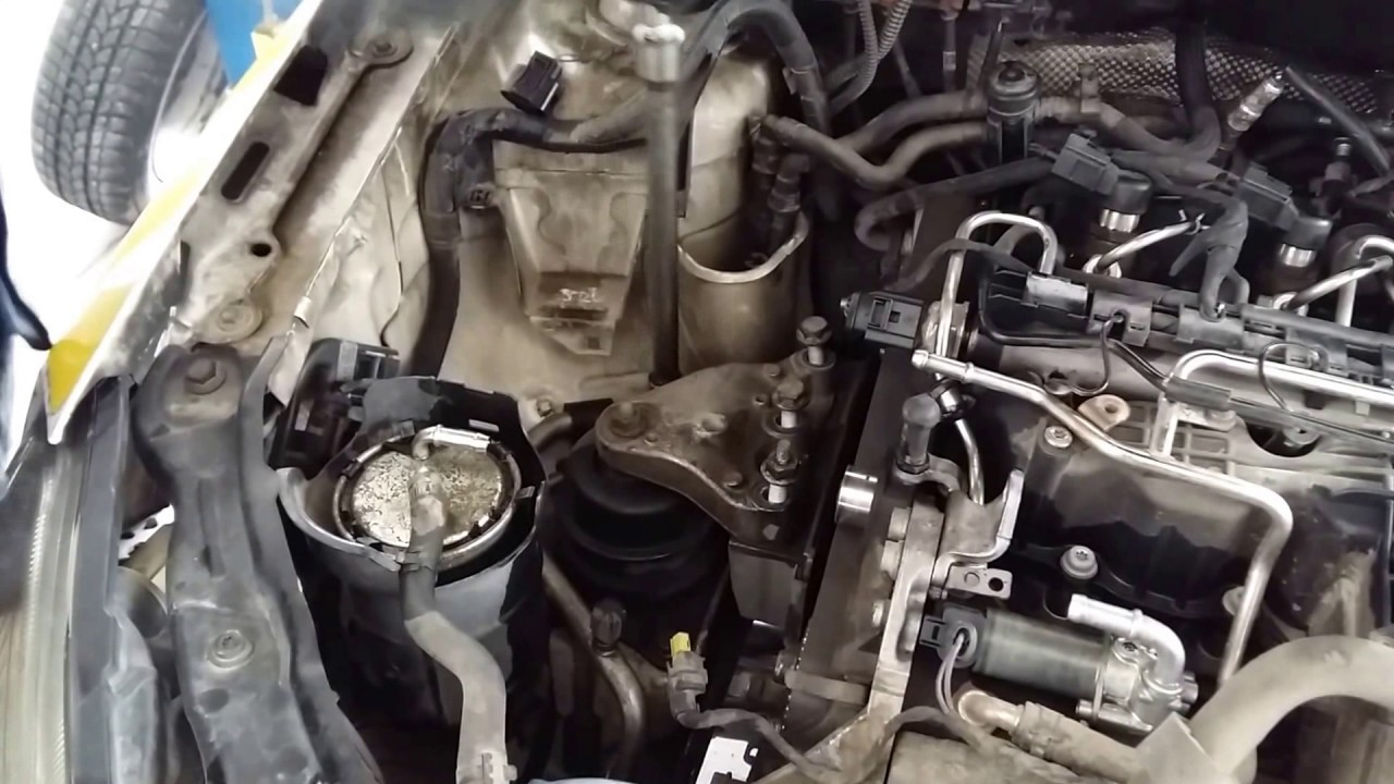 Diy skoda fabia tdi timing belt removal youtube