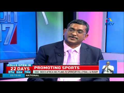 Bidco Africa has plans to sponsor volleyball & rugby - Chris Diaz