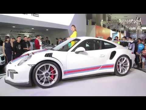 """Tâm điểm """"xế đua đường phố"""" - Porsche 911 GT3 RS ở VIMS 2015"""