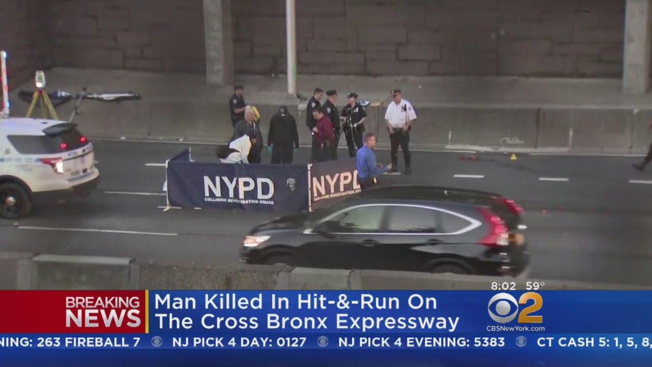 Pedestrian Struck, Killed In Hit-And-Run On Cross Bronx Expressway