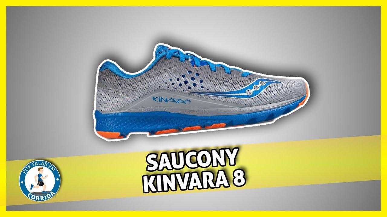 c331eda20c2 Review Saucony Kinvara 8 - Será que é bom  - YouTube