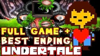 UNDERTALE FULL GAME with BEST ENDING! Walkthrough (No Commentary)