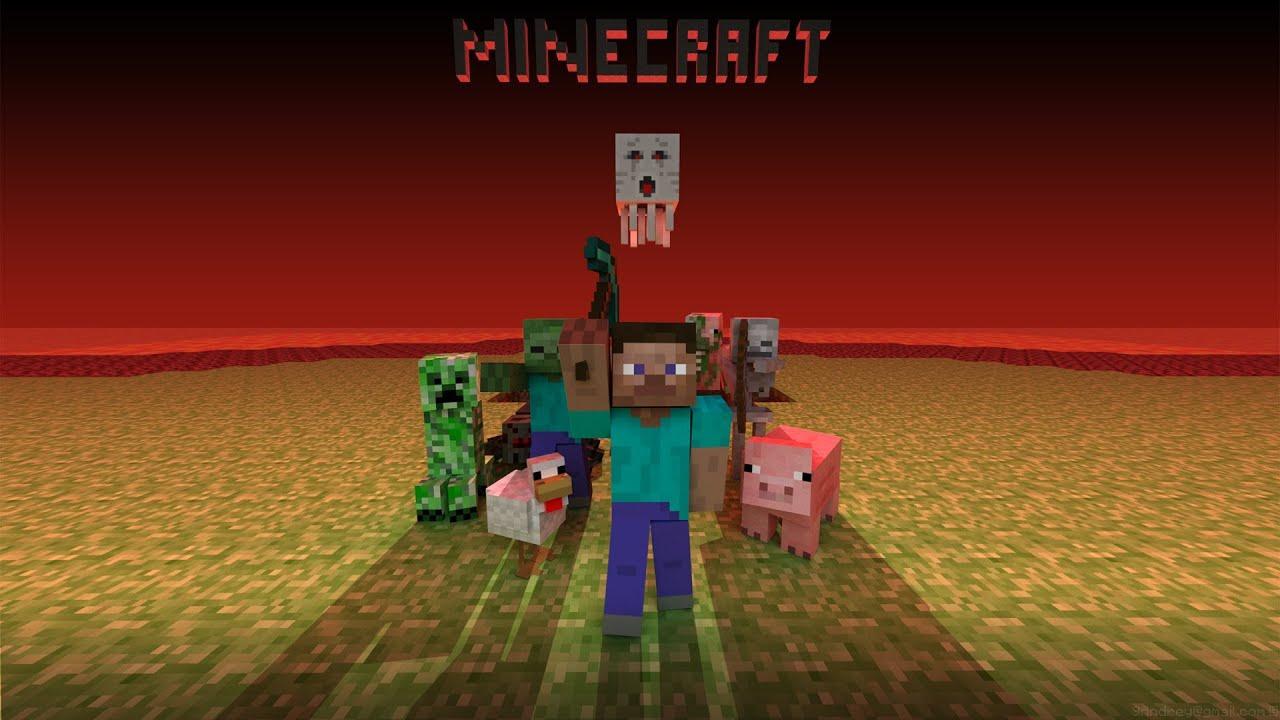 Minecraft Pre-classic 0.0.9 - YouTube