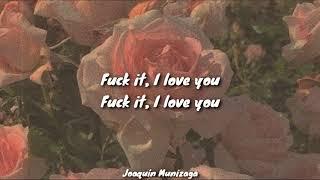Fuck It I Love You - Lana Del Rey (Lyrics / Letra)