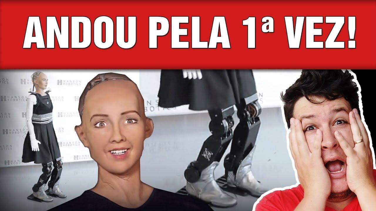 Ginoide Sophia Ganha Braços e Pernas e Anda pela Primeira! (#556 - N. Assombradas)