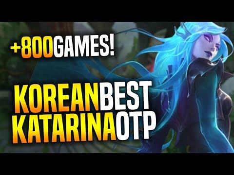 Korean Challenger Katarina (Best Kata Korea) Plays with the New Katarina Skin | Death Sworn Katarina