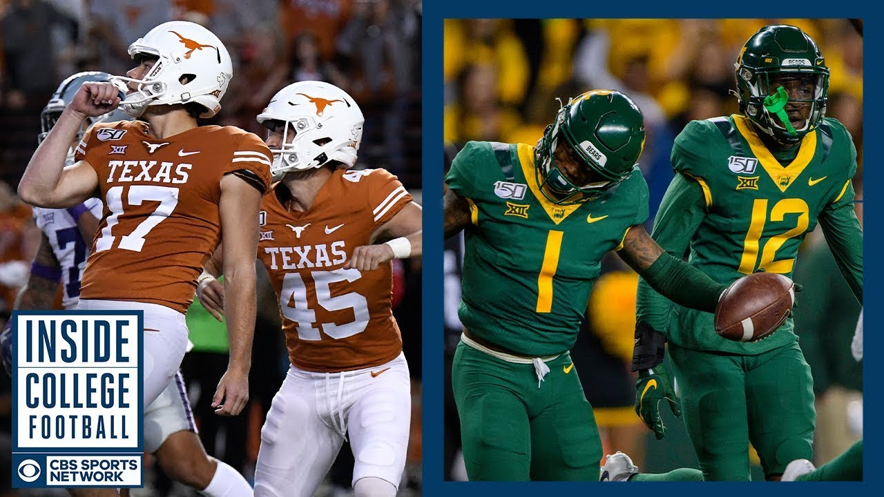 Texas At 14 Baylor Preview Inside College Football