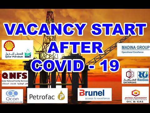 OIL AND GAS VACANCY START AFTER COVID 19