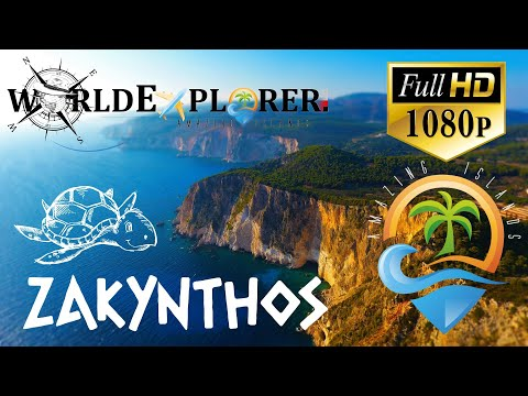 █▬█ █ ▀█▀  Zakynthos, Zante HD places that you must see (drone)