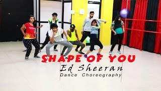 Shape Of You - Ed Sheeran | Dance Choreography | By Mohit Jain's Dance Institute(MJDi)