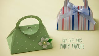 DIY Gift Box | Party Favors