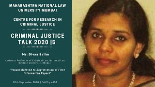 Issues related to registration of First Information Report | Criminal Justice Talks | 5