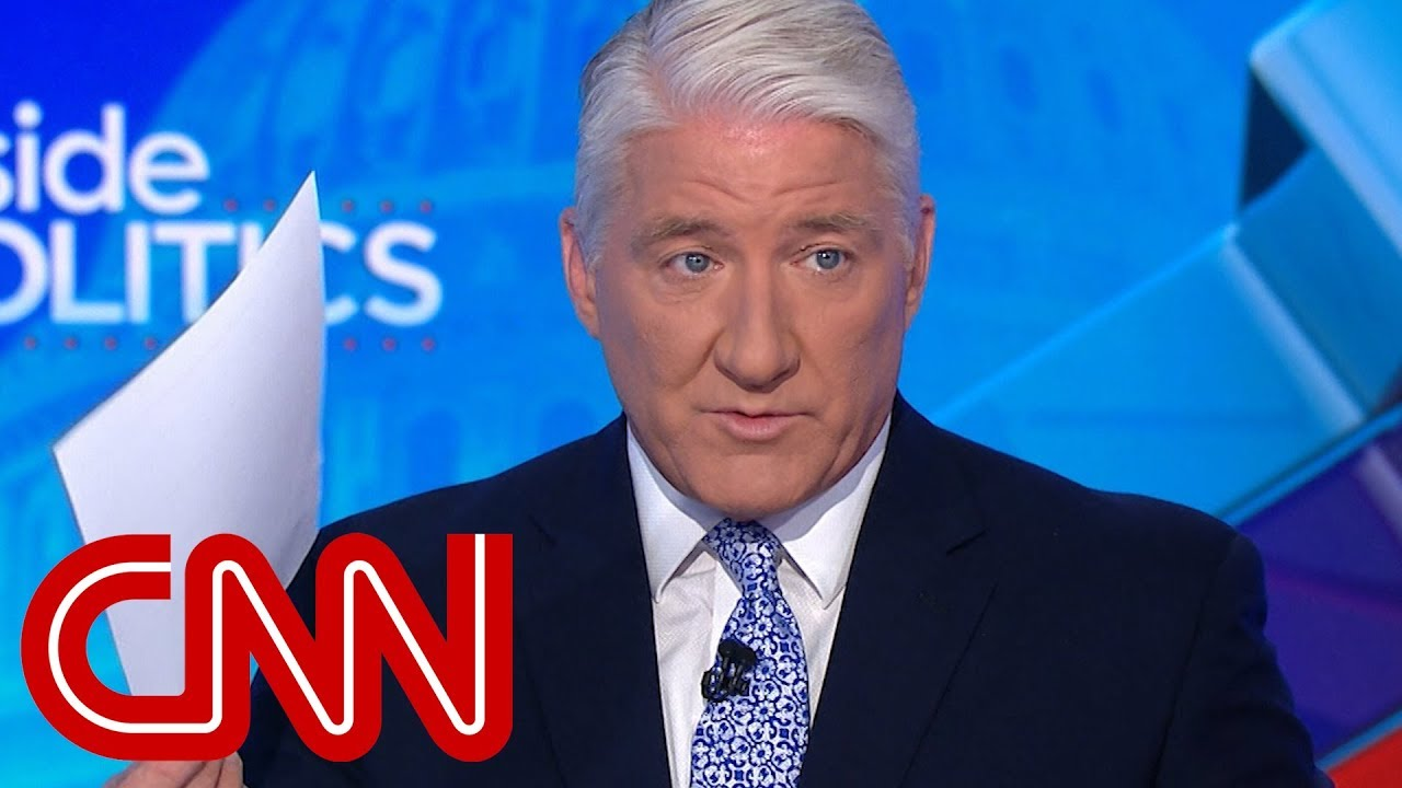 CNN's John King calls out Biden for 'amateur' mistake - YouTube