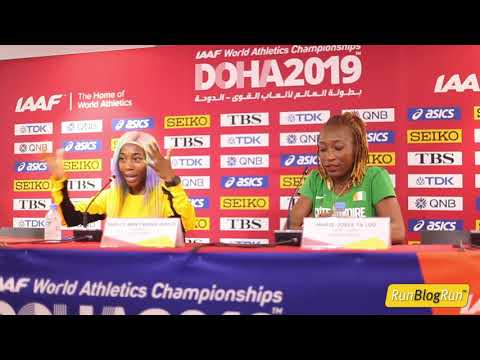 Doha WC 2019 - Women's 100m Final Press Conference