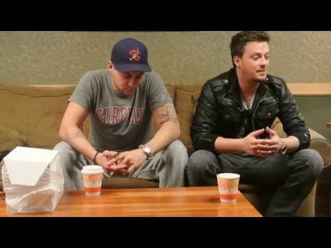 Love and Theft interview with HelloCountryusa at Mohegan Sun Casino