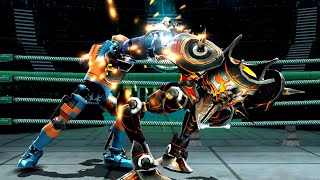 REAL STEEL WRB Axelrod VS Bio War & Tackle & Camelot & Dreadlord