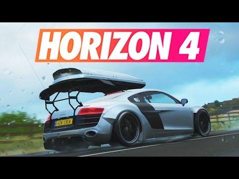 Forza Horizon 4 - DÉCOUVERTE DEMO (PREVIEW) !!