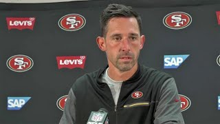 49ers Post-Game Media Briefing by Coach Shanahan