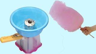 كيف تصنع آله غزل البنات  في بيتك  بادوات بسيطه How to make Cotton candy machine  Simple tools