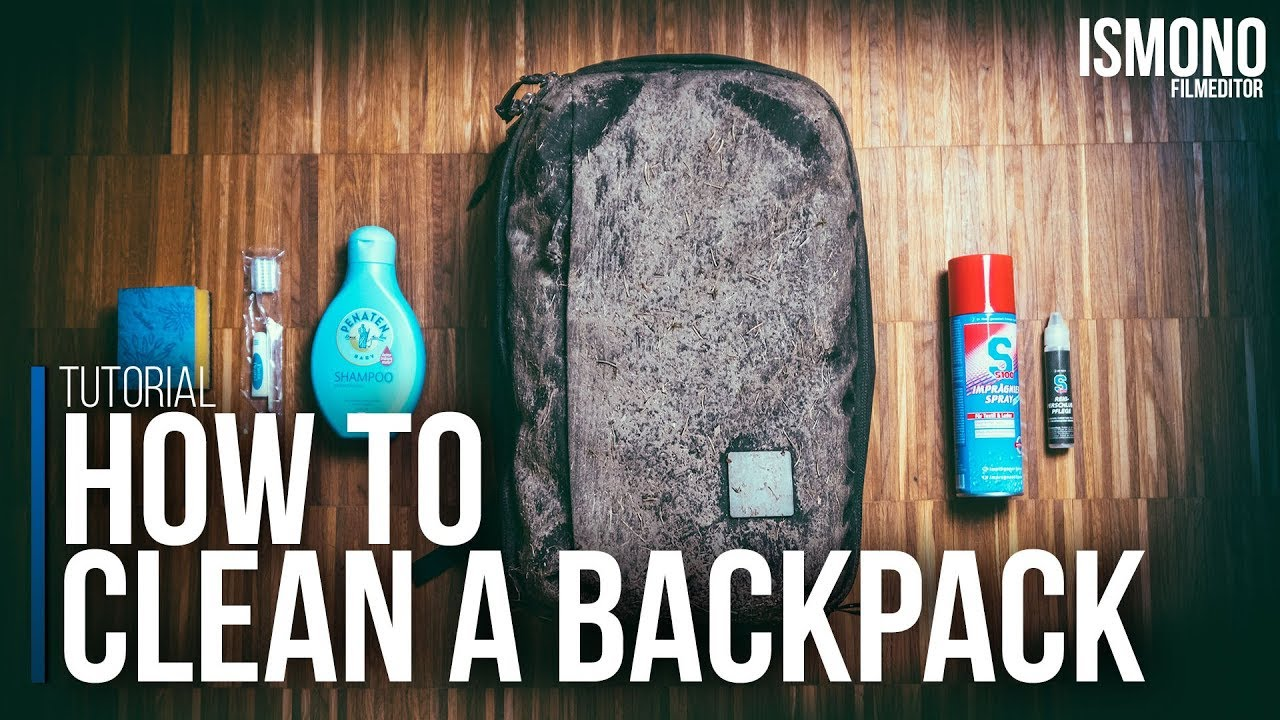 700b4002a0f HOW TO clean a Backpack (Tutorial) - YouTube