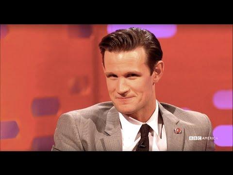 Matt Smith Impersonates His Co-Star's Breast Pump - The Graham Norton Show