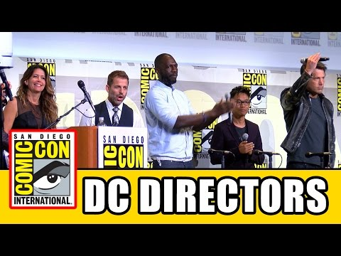 DC UNIVERSE DIRECTORS Surprise Comic Con 2016 Appearance - Ben Affleck, Patty Jenkins, Zack Snyder