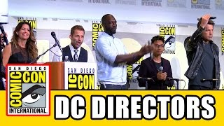 DC Comic Con Directors Ben Affleck, Patty Jenkins, Zack Snyder, David Ayer, Rick Famuyiwa, James Wan