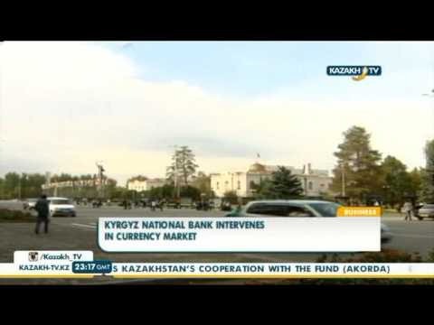 Kyrgyz National Bank intervenes in currency market - Kazakh TV