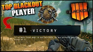 MAX LEVEL PLAYER OVER 360+ WINS! COD BO4 BLACKOUT! BLACK OPS 4 COD BATTLE ROYALE LIVE!