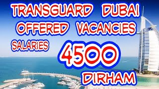 Transguard group Careers in Dubai Announced new Vacancies July 2020