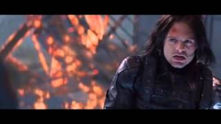 Captain America: The Winter Soldier End Of The Line Scene