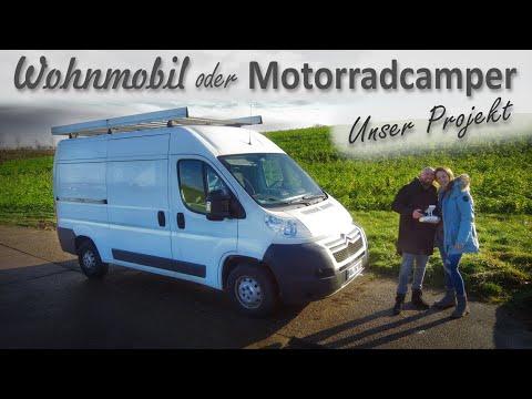 #1 - DIY Citroen Jumper Motorradcamper oder Camper Ausbau aus einem Kastenwagen?