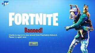 My $6,000+ Fortnite Account got BANNED...