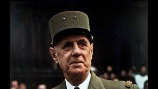 Исторические личности - генерал Де Голль
