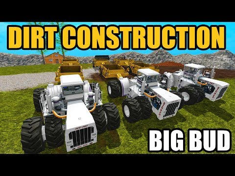 FARMING SIMULATOR 2017 | MULTIPLAYER CONSTRUCTION W/ NEW DIRT SCRAPER & BIG BUD