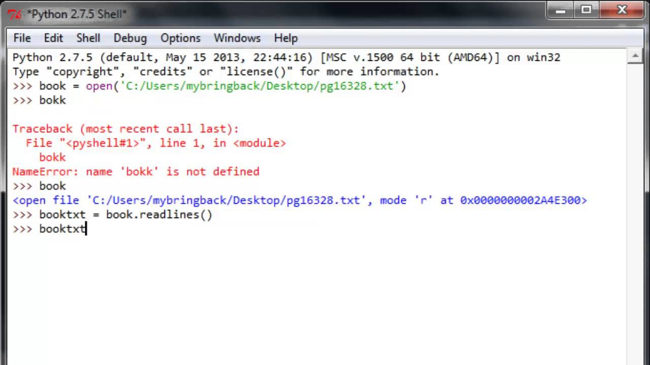 Python Pyserial Readline Example