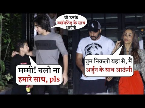 Malaika Arora Ignore Her Sons and She Left With Arjun Kapoor | Full Moment in Soho House Mp3