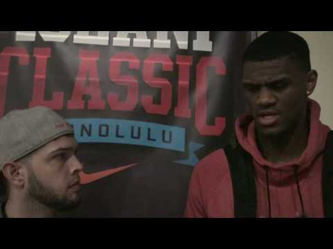 VIDEO: Interview with Oak Hill (VA) senior Billy Preston (Kansas commit)