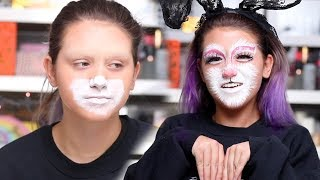 my aunt turned me into a bunny for Halloween