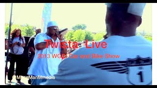 "The Legendary Twista spits ""A.D.I.D.A.S."" ((LIVE))"