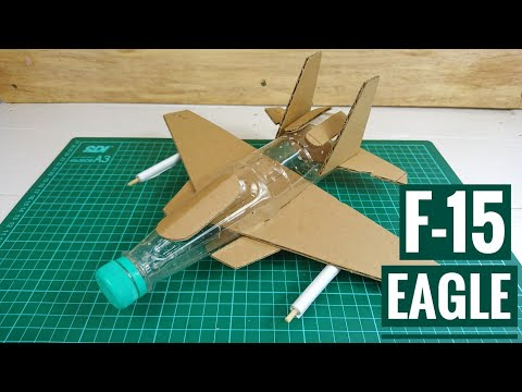Origami, cara membuat PESAWAT JET TEMPUR dari Kertas sederhana.