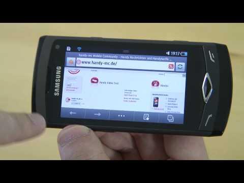 Samsung S8500 Wave Test Internet