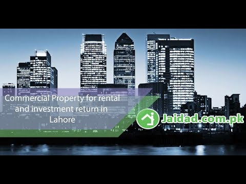 How to invest in Commercial Property in DHA Lahore for rental and investment returns by jaidad