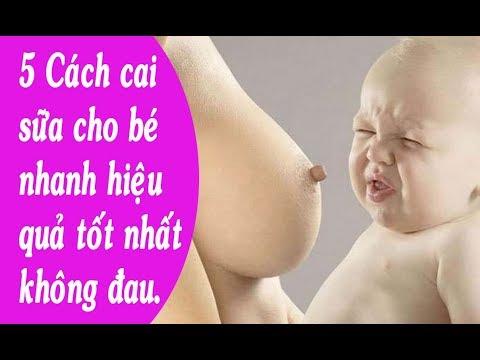 Mách Mẹ 5 Cách Cai Sữa Tốt Và Hiệu Quả Nhất. Nuôi Con Bằng Sữa Mẹ.