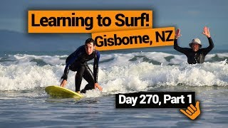 Surfing in Gisborne – New Zealand's Biggest Gap Year – Backpacker Guide New Zealand