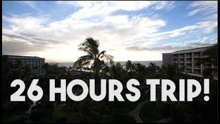 26 HOURS TRIP! (Terbang ke Hawaii) Part 1